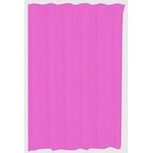 Tenda Doccia Anti Muffa Impermeabile Con 12 Anelli Bagno Fucsia 120 x 200cm