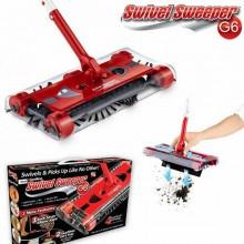 Scopa elettrica con batteria ricaricabile e manico snodabile Swivel Sweeper G6