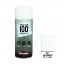 PRIMER 100% Smalto acrilico Fondo aggrappante per plastica ml 400 AREXONS 3441