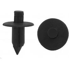 20x Rivetti in plastica nera per auto materiale plastico montaggio di minigonne