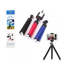 Supporto treppiedi pieghevole e girevole smartphone 18 Cm foto video cellulare