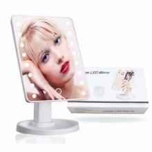 Specchio Trucco Con 16 Luci Led Large Mirror Rotazione 360° Makeup arredamento