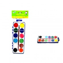 12 blocchi di vernice a colori ad acquerello pittura dipingere disegnare bambini