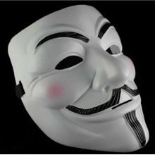 5x maschera V per Vendetta maschere Guy Fawkes Anonymous maschere in plastica