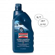 SUPER SHAMPOO CONCENTRATO 1LT AREXONS FORMULA SINERGICA CARROZZERIA AUTO E MOTO