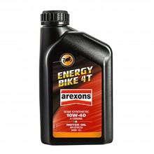 OLIO MOTORI SEMI-SINTETICO MULTIGRADO 10W-40 4 STROKE ENERGY BIKE 4T 1LT AREXONS