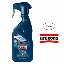 AREXONS RIMUOVI RESINA E INSETTI SPRAY 500 ML CARROZZERIA SUPERFICIE AUTO GEL