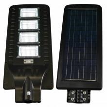 Lampione stradale LED 180W pannello solare fotovoltaico Faro Staffa Sensore