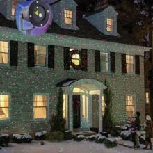 Proiettore laser luci decorazione esterno interno casa prato giardino natale