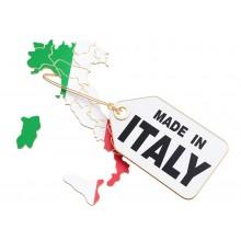 40x Mascherine FFP2 Italia certificate CE colore Giallo monouso Naso Bocca viso