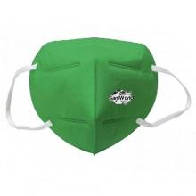 40x Mascherine FFP2 Italia certificate CE colore Verde porta mascherina omaggio
