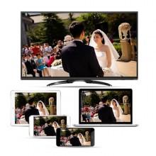 USB a AV HDMI HDTV Tv Cavo lightning ricarica trasmissione 1080p 2M giochi film