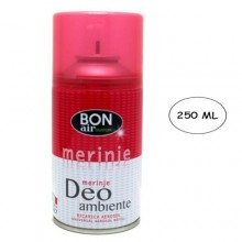 Deodorante ambiente 250ml con erogatore automatico aroma merinje ricarica
