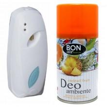 Deodorante ambiente 250ml con erogatore automatico aroma cocktail fruit ricarica