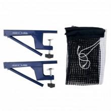 Kit rete con morsetti tendirete per tavolo ping pong 180 x 15 cm ricambio rete