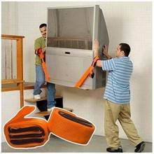 Cinghia per trasporto trasloco e sollevamento mobili carichi pesanti e elettrodomestici - 2 Pezzi
