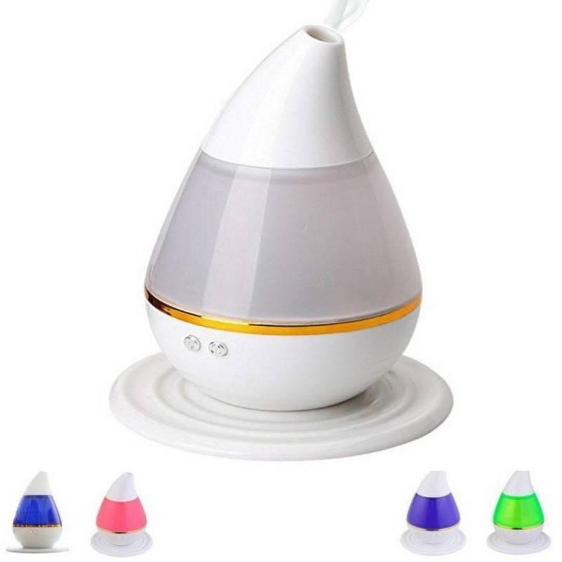 Diffusore di aromi a goccia umidificatore ad ultrasuoni aromaterapia purifica aria e colorata lampada di design 250ml