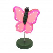 Segnaposto mollettina decorazione portafoto design a farfalla clip molletta casa