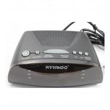 RADIO SVEGLIA DIGITALE FUNZIONE AM/FM OROLOGIO DISPLAY LED FUNZIONI SLEEP SNOOZE