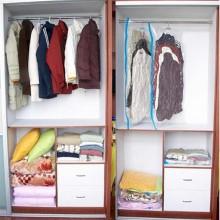 2x Sacchetto sottovuoto per vestiti 50x60 Cm abiti piumoni sacco salvaspazio
