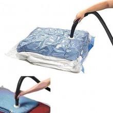Sacchetto sottovuoto per vestiti 60x80 Cm abiti piumoni sacco salvaspazio spazio