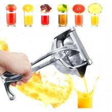 Spremiagrumi estrattore manuale succo polpa pressa frutta fresca alluminio