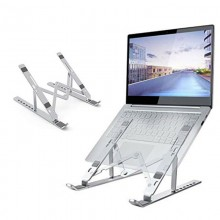 BASE SUPPORTO PER LAPTOP PC PORTATILE NOTEBOOK TABLET REGOLABILE PIEGHEVOLE