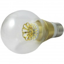 LAMPADINA LED 3W LUCE CALDA ATTACCO E27 LED ORO 240 LM LAMPADA