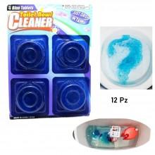 12 Pastiglie gel per cassetta WC igienizzanti azione anticalcare profumo pulizia