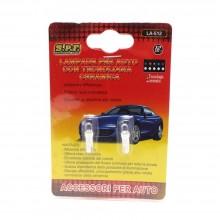 LUCE PER AUTO ATTACCO T5 12V LA-512 SPF TECNOLOGIA LED LAMPADINE Plug and Play