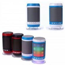 CASSA PORTATILE CON RADIO FM SD USB BLUETOOTH MP3 SMARTPHONE SPEAKER LED WS1806