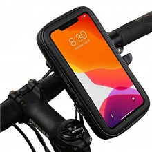 """Porta telefono cellulare bici supporto smartphone bicicletta impermeabile 6.3"""""""