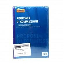 BLOCCHI PROPOSTA DI COMMISSIONE 3 COPIE AUTORICALCANTI BOX 10PZ