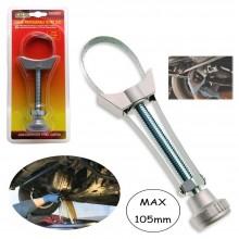 Chiave snodata a nastro per smontaggio filtro dell'olio Max 105 mm motore auto