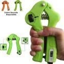 Hand Grip a Molla con forza regolabile per allenamento mano avambraccio esercizi potenziamento muscoli con contatore analogico