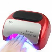 Lampada fornetto Led UV + CCFL 48W ricostruzione unghie nail art timer sensore