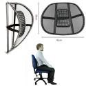 Schienale ergonomico auto sedia ufficio sedile poltrona correggi postura lombare