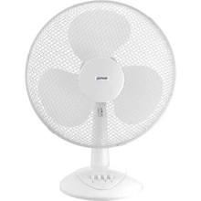 Ventilatore da tavolo cm 30 oscillante 40 W 3 velocità bianco zephir PBI30