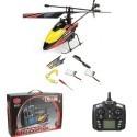 Elicottero radiocomandato 4.5 canali drone giroscopio led 2 batterie e ricambi
