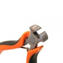 Mini tenaglia tronchesi curva 105mm manici isolanti antiscivolo fai da te DIY