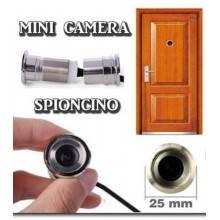 Telecamera Spia sorveglianza Spioncino occhiello colori portone regolabile