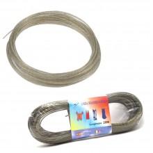 Corda filo stendibiancheria stendi biancheria panni bucato 20m acciaio rivestito