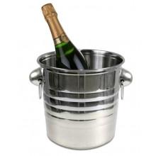 Secchiello da ghiaccio porta bottiglie vino champagne cestello ristorante bar