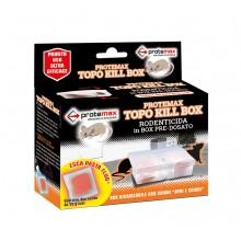 Protemax trappola topo kill box 2 pezzi rodenticida pronto uso pre dosato 30gr