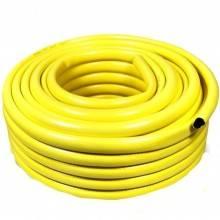 """Tubo Giallo/Verde Gomma da Giardino 3/4"""" 19mm x 30m Metri Irrigazione Rinforzato"""
