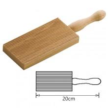 Rigagnocchi tagliere riga gnocchi legno pasta fresca MADE IN ITALY garganelli board