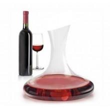 Decanter per vino in vetro 1L 1 litro areatore caraffa enoteca ristorante pub
