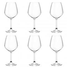 Bormioli Rocco set 6 Calci Resturant rosso 52.5 cl vetro ideali per vino rosso
