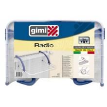 Stendibiancheria da balcone 3m calorifero radiatore GIMI Radio cm L52xP34xH18