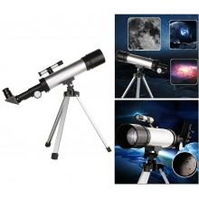 F.36050 Set telescopio riflettore astronomico con mirino monoculare treppiedi